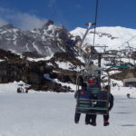 Students in a mount ruapehu ski life as part of William Pike Challenge mountain experience