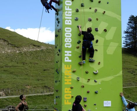 ASB Mobile Rock Climbing wall by Bigfoot Adventures